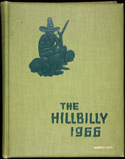 1966 Edition, Lee Edwards High School - Hillbilly Yearbook (Asheville, NC)