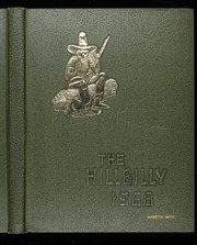1968 Edition, Lee Edwards High School - Hillbilly Yearbook (Asheville, NC)