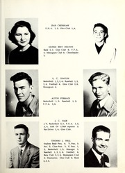Page 13, 1952 Edition, St Pauls High School - Sa Ta Pa Yearbook (St Pauls, NC) online yearbook collection