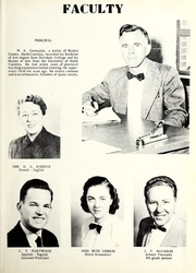 Page 9, 1952 Edition, St Pauls High School - Sa Ta Pa Yearbook (St Pauls, NC) online yearbook collection