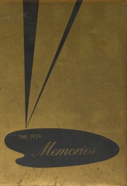 Page 1, 1959 Edition, West Davidson High School - Memories Yearbook (Lexington, NC) online yearbook collection