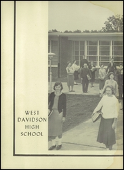 Page 6, 1959 Edition, West Davidson High School - Memories Yearbook (Lexington, NC) online yearbook collection
