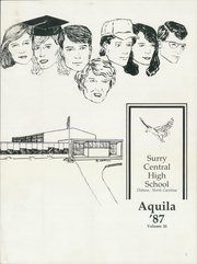 Page 5, 1987 Edition, Surry Central High School - Aquila Yearbook (Dobson, NC) online yearbook collection