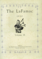 Page 6, 1930 Edition, Fayetteville High School - La Famac Yearbook (Fayetteville, NC) online yearbook collection