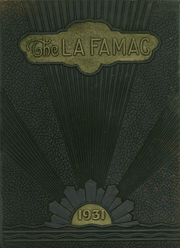 Page 1, 1931 Edition, Fayetteville High School - La Famac Yearbook (Fayetteville, NC) online yearbook collection