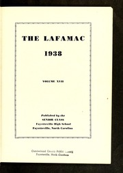 Page 5, 1938 Edition, Fayetteville High School - La Famac Yearbook (Fayetteville, NC) online yearbook collection
