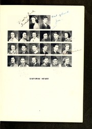 Page 9, 1938 Edition, Fayetteville High School - La Famac Yearbook (Fayetteville, NC) online yearbook collection