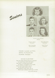 Page 15, 1943 Edition, Fayetteville High School - La Famac Yearbook (Fayetteville, NC) online yearbook collection