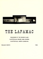 Page 5, 1958 Edition, Fayetteville High School - La Famac Yearbook (Fayetteville, NC) online yearbook collection