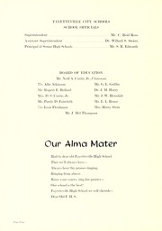 Page 8, 1958 Edition, Fayetteville High School - La Famac Yearbook (Fayetteville, NC) online yearbook collection