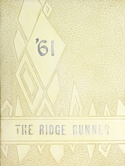 Swain County High School - Ridge Runner Yearbook (Bryson City, NC) online yearbook collection, 1961 Edition, Page 1