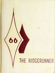 Swain County High School - Ridge Runner Yearbook (Bryson City, NC) online yearbook collection, 1966 Edition, Page 1