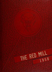 Page 1, 1958 Edition, Red Springs High School - Red Mill Yearbook (Red Springs, NC) online yearbook collection