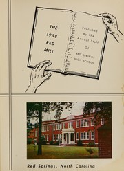 Page 5, 1958 Edition, Red Springs High School - Red Mill Yearbook (Red Springs, NC) online yearbook collection