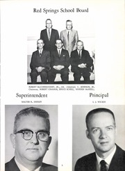 Page 11, 1963 Edition, Red Springs High School - Red Mill Yearbook (Red Springs, NC) online yearbook collection
