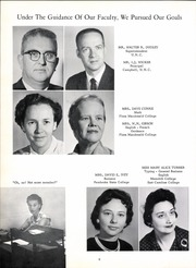 Page 12, 1963 Edition, Red Springs High School - Red Mill Yearbook (Red Springs, NC) online yearbook collection