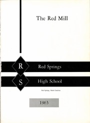 Page 7, 1963 Edition, Red Springs High School - Red Mill Yearbook (Red Springs, NC) online yearbook collection