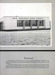 Page 9, 1963 Edition, Red Springs High School - Red Mill Yearbook (Red Springs, NC) online yearbook collection