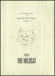 Page 5, 1957 Edition, Madison Mayodan High School - Falcon Yearbook (Madison, NC) online yearbook collection