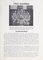 Page 51, 1953 Edition, Ahoskie High School - Chief Yearbook (Ahoskie, NC) online yearbook collection
