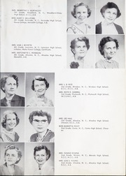 Page 13, 1955 Edition, Ahoskie High School - Chief Yearbook (Ahoskie, NC) online yearbook collection