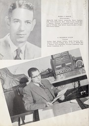 Page 8, 1955 Edition, Ahoskie High School - Chief Yearbook (Ahoskie, NC) online yearbook collection