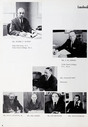 Page 12, 1965 Edition, Ahoskie High School - Chief Yearbook (Ahoskie, NC) online yearbook collection