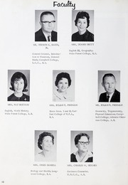 Page 14, 1965 Edition, Ahoskie High School - Chief Yearbook (Ahoskie, NC) online yearbook collection
