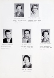 Page 17, 1965 Edition, Ahoskie High School - Chief Yearbook (Ahoskie, NC) online yearbook collection