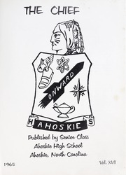Page 5, 1965 Edition, Ahoskie High School - Chief Yearbook (Ahoskie, NC) online yearbook collection