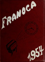 1954 Edition, Franklinton High School - Franoca Yearbook (Franklinton, NC)
