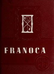 Page 1, 1955 Edition, Franklinton High School - Franoca Yearbook (Franklinton, NC) online yearbook collection