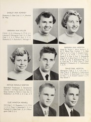 Page 13, 1955 Edition, Franklinton High School - Franoca Yearbook (Franklinton, NC) online yearbook collection