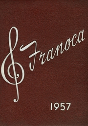 1957 Edition, Franklinton High School - Franoca Yearbook (Franklinton, NC)