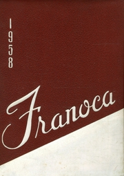 Page 1, 1958 Edition, Franklinton High School - Franoca Yearbook (Franklinton, NC) online yearbook collection