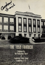 Page 5, 1959 Edition, Franklinton High School - Franoca Yearbook (Franklinton, NC) online yearbook collection