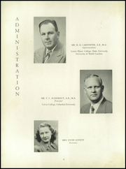 Page 8, 1952 Edition, Elkin High School - Elk Yearbook (Elkin, NC) online yearbook collection