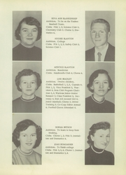 Page 15, 1956 Edition, Sylva High School - Hurricane Yearbook (Sylva, NC) online yearbook collection