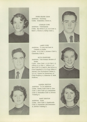 Page 17, 1956 Edition, Sylva High School - Hurricane Yearbook (Sylva, NC) online yearbook collection