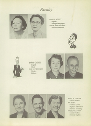 Page 9, 1956 Edition, Sylva High School - Hurricane Yearbook (Sylva, NC) online yearbook collection