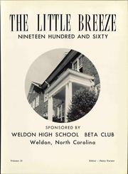 Page 7, 1960 Edition, Weldon High School - Little Breeze Yearbook (Weldon, NC) online yearbook collection