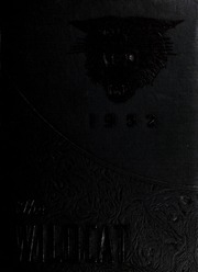 Page 1, 1952 Edition, Madison High School - Wildcat Yearbook (Marshall, NC) online yearbook collection