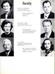 Page 13, 1953 Edition, Madison High School - Wildcat Yearbook (Marshall, NC) online yearbook collection