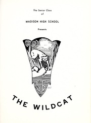 Page 5, 1956 Edition, Madison High School - Wildcat Yearbook (Marshall, NC) online yearbook collection