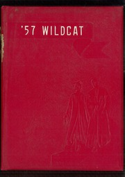 1957 Edition, Madison High School - Wildcat Yearbook (Marshall, NC)