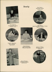 Page 10, 1957 Edition, Madison High School - Wildcat Yearbook (Marshall, NC) online yearbook collection