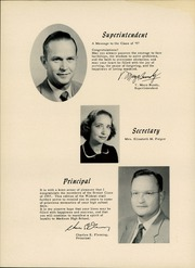 Page 8, 1957 Edition, Madison High School - Wildcat Yearbook (Marshall, NC) online yearbook collection