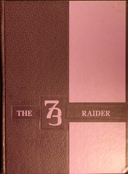 1973 Edition, Midway High School - Raider Yearbook (Dunn, NC)