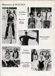 Page 15, 1973 Edition, Midway High School - Raider Yearbook (Dunn, NC) online yearbook collection