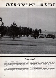 Page 6, 1973 Edition, Midway High School - Raider Yearbook (Dunn, NC) online yearbook collection